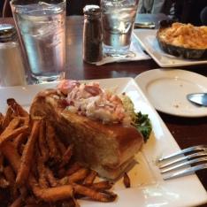 lobster roll for dinner!