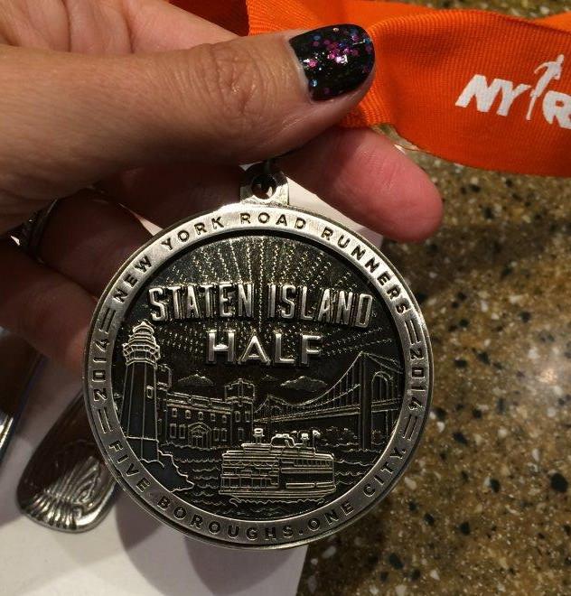 nyrr 2014 staten island half running pictures staten island half medal