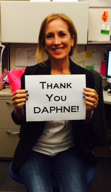 thank you Daphne