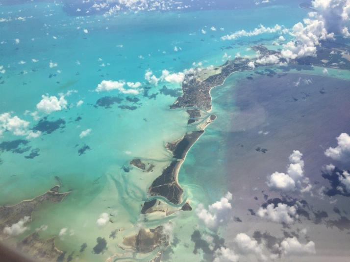 Turks and Caicos aerial shot