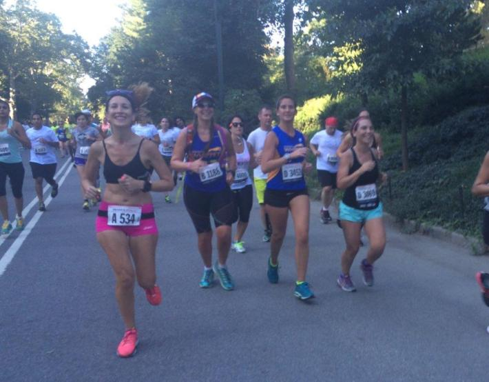 NYRR France Run 8K central Park results pictures (5)