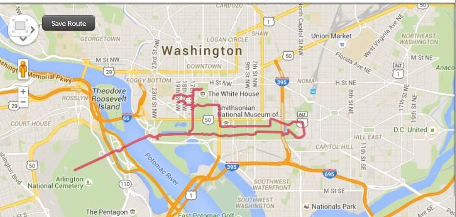 washington DC running runningandthecity