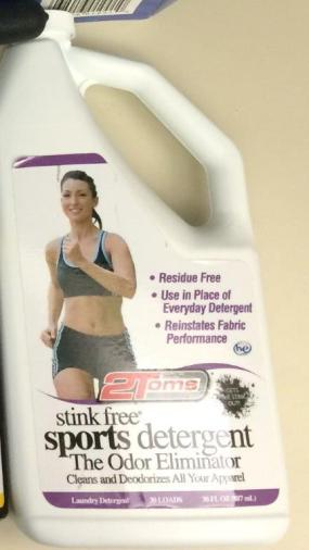 stink free sports detergent product review running gear detergent (2)