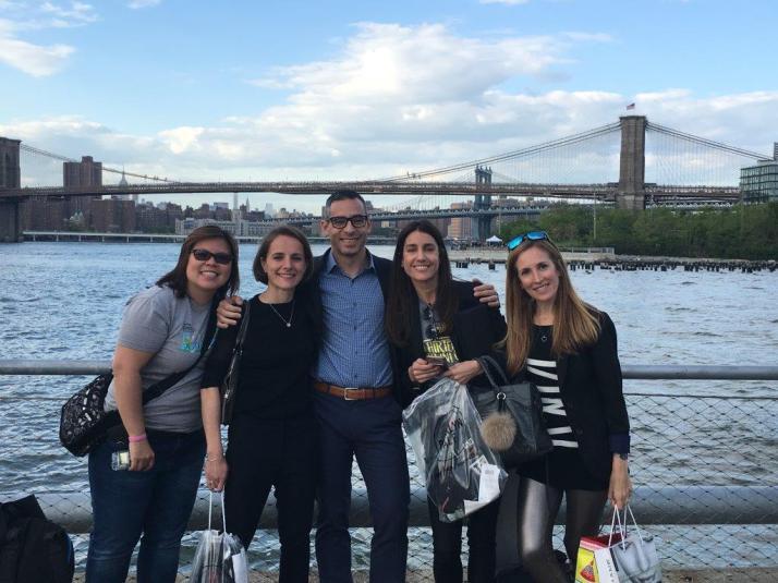 nyrr airbnb brooklyn half marathon pictures preparty new balance (10)