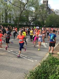 Women's Shape Half Marathon NYRR pictures (9)