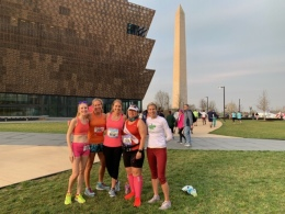 2019 credit union cherry blossom 10 mile race Washington DC 4